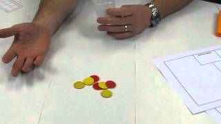 DrPaulSwan - YouTube -Subitising game - Shake & spill- Foundation - ACMNA004 Represent practical situations to model addition & sharing
