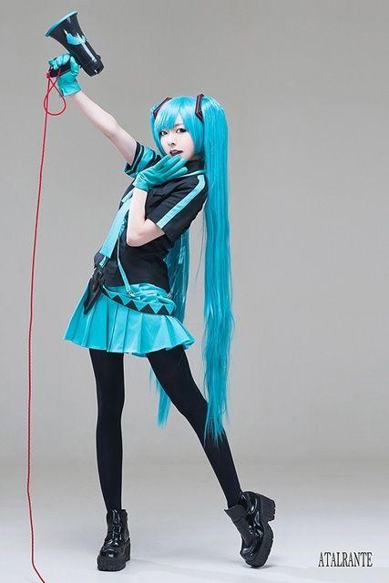 hatsune miku cosplay - photo #34