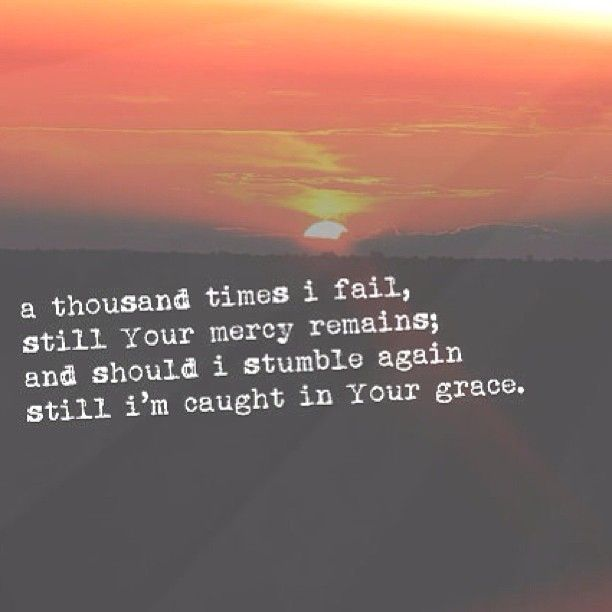 From the inside out, Lord. <3