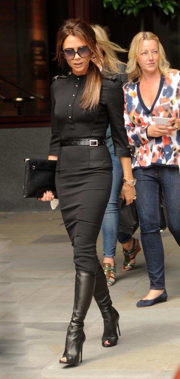#victoriabeckham #style Le look de Victoria Beckham en juin 2012