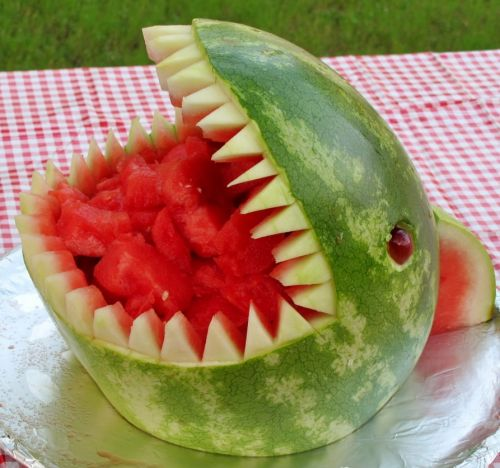 Watermelon Turned Up | Vodka Spiked Watermelon for 4th of July