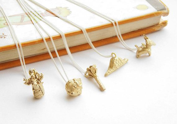 INFANCIA Pendants in BRASS  Le Petit Prince inspired by gemagenta, - These are all cute, I want them all!