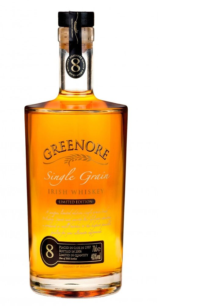 A corn-based Irish Whiskey, Greenore Single Grain is a fascinating look at another side of this popular whiskey styles.