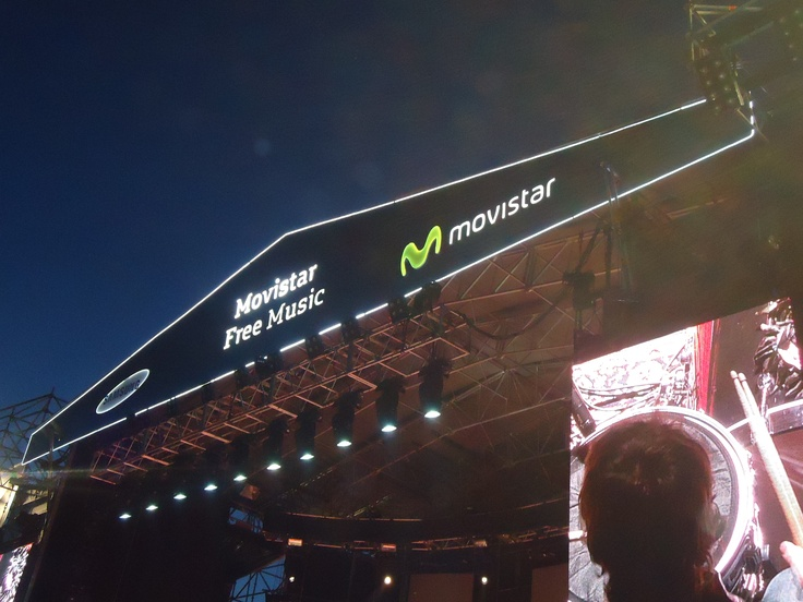 Fito Páez en el Movistar Free Music 2012 (Planetario Galileo Galilei, Buenos Aires) #movistarfreemusic