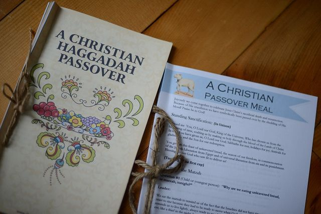 Forget Perfect: When All You Need for Easter is the Lamb {Free Christian Haggadah Passover Printable}