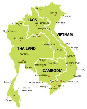 Vietnam, Cambodia and Thailand, next on the travel list.