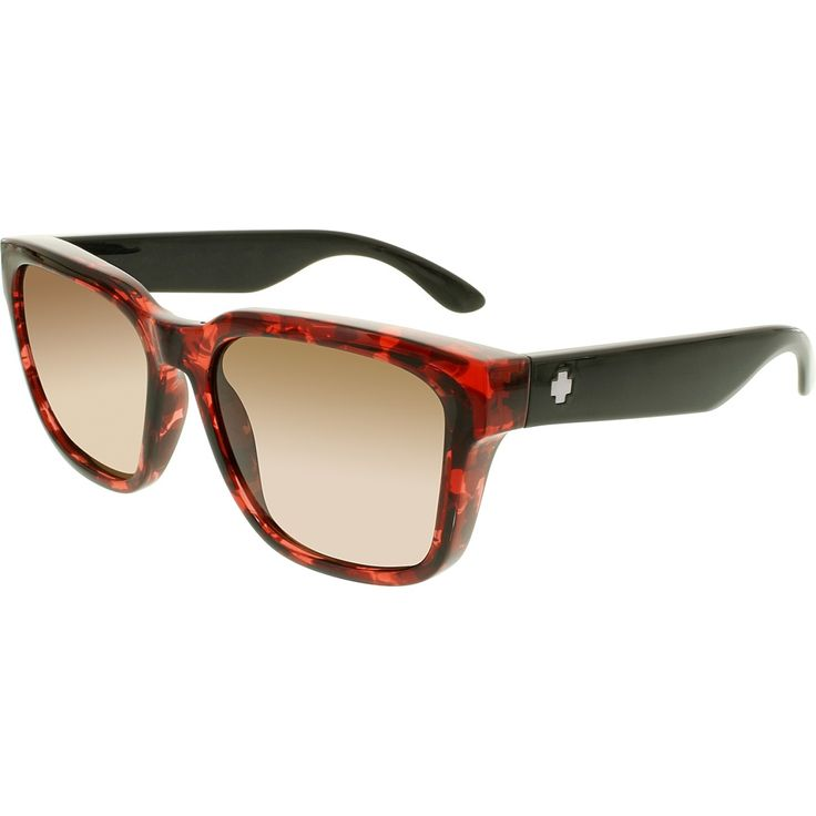 Their unique wayfarer frames most definitely stand out from the average run-of-the-mill type sunglasses frames, and their highly fashionable red plastic frames are literally light-years ahead of any of the competition. Top all of this off by the way, in which their brown plastic lenses both complements the frames and simultaneously offset this pair of sunglasses from all the rest in the crowd, and it's no wonder that you look as good as you do!