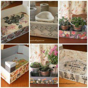 1000 images about cajas de fruta fruit box on pinterest - Cajas de fruta decoradas ...