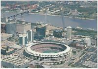 JUMBO Busch Stadium St Louis Cardinals Baseball Postcard NFL Football