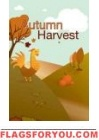 Autumn Harvest US Made Garden Flag