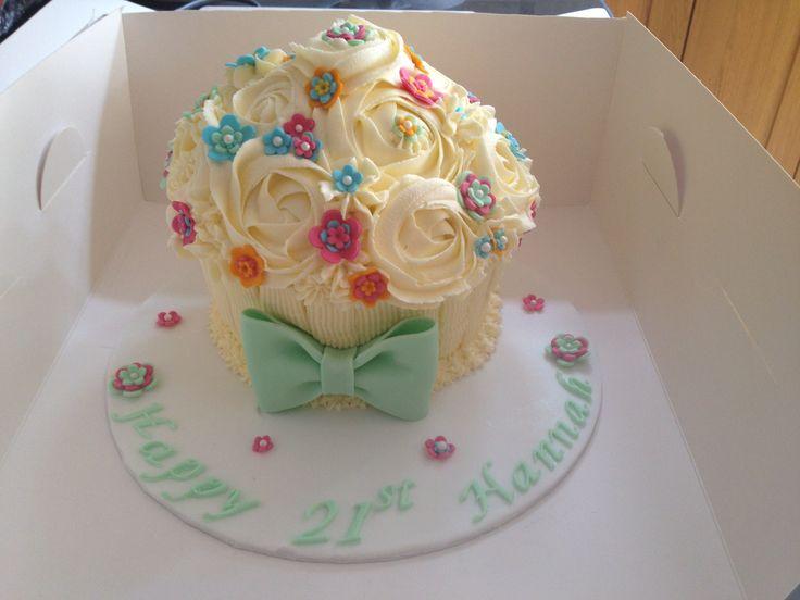 Giant cupcake!! :)