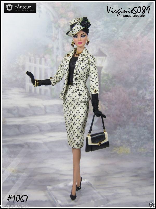 Tenue Outfit Accessoires Pour Fashion Royalty Barbie Silkstone Vintage 1067 | eBay