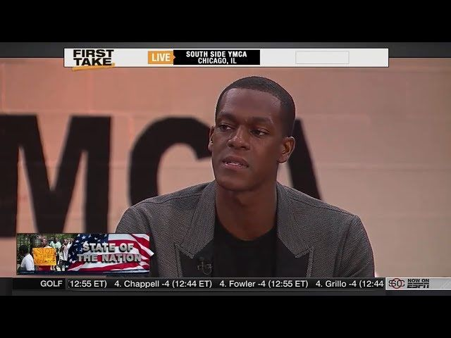 ESPN First Take Today 8-26-16 Isiah Thomas, Michael Eric Dyson, Stephen A. Smith and Max Kellerman discuss all the violence at South Side Chicago's YMCA. ESP...
