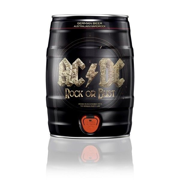 AC/DC Rock or Bust Beer Mini keg