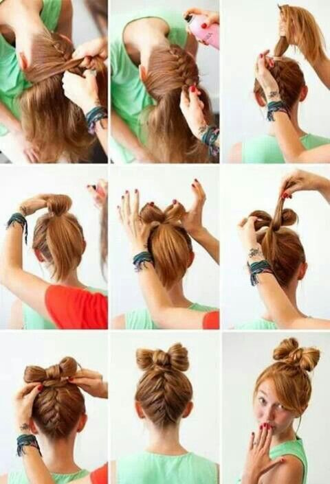 Superb 1000 Images About Hairstyles On Pinterest Updo Hair Bow Short Hairstyles For Black Women Fulllsitofus