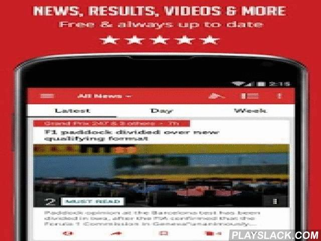 Formula News - Unofficial  Android App - playslack.com ,  This App is unofficial and is not associated in any way with the Formula One group of companies. F1, FORMULA ONE, FORMULA 1, FIA FORMULA ONE WORLD CHAMPIONSHIP, GRAND PRIX, FORMULA ONE PADDOCK CLUB, PADDOCK CLUB and related marks are trade marks of Formula One Licensing B.V.Unofficial Formula 1 news and standings at the easiest way possible! Get all Formula One news, videos, rumors, standings, interviews and more in one single app…