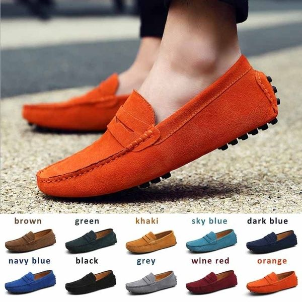 Mens Loafers Boat Deck Shoes Smart Casual Moccasins Slip on Comfy Flats Driving