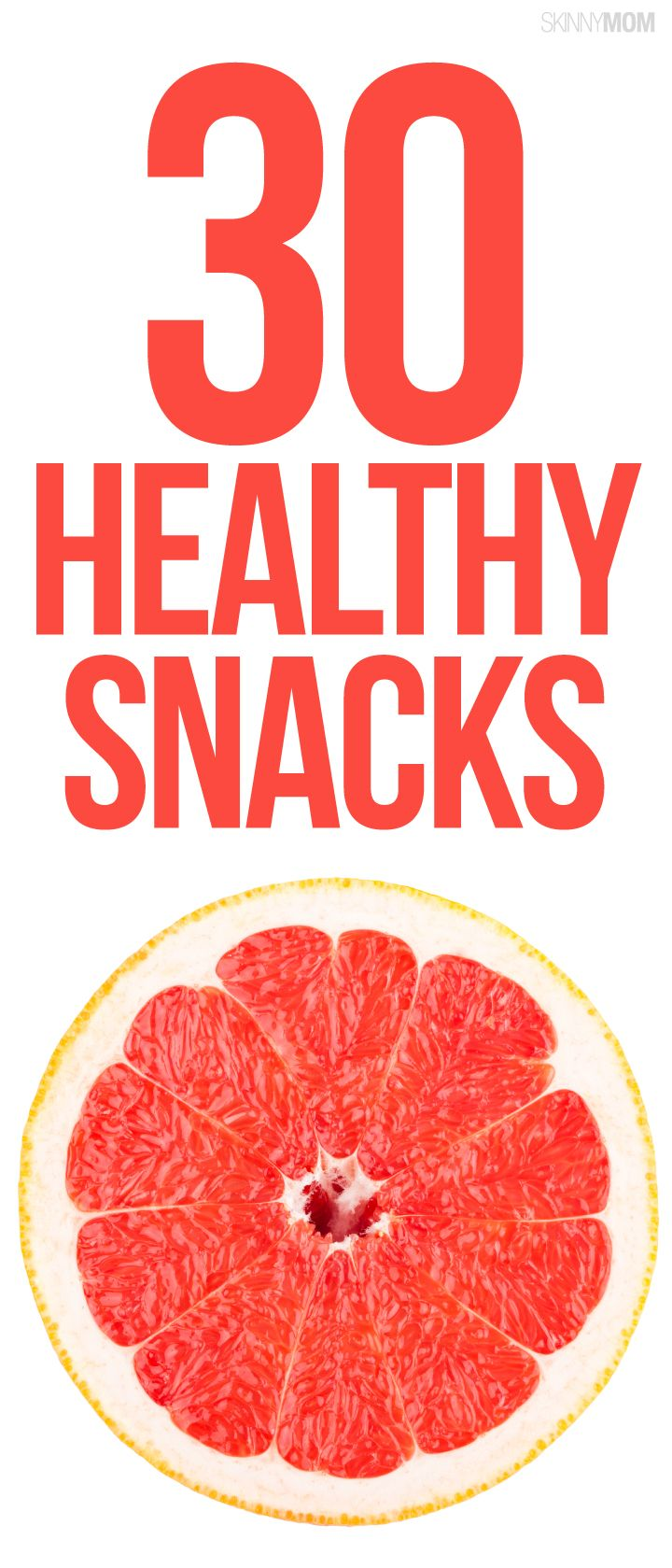 Get a month's worth of healthy snack ideas!