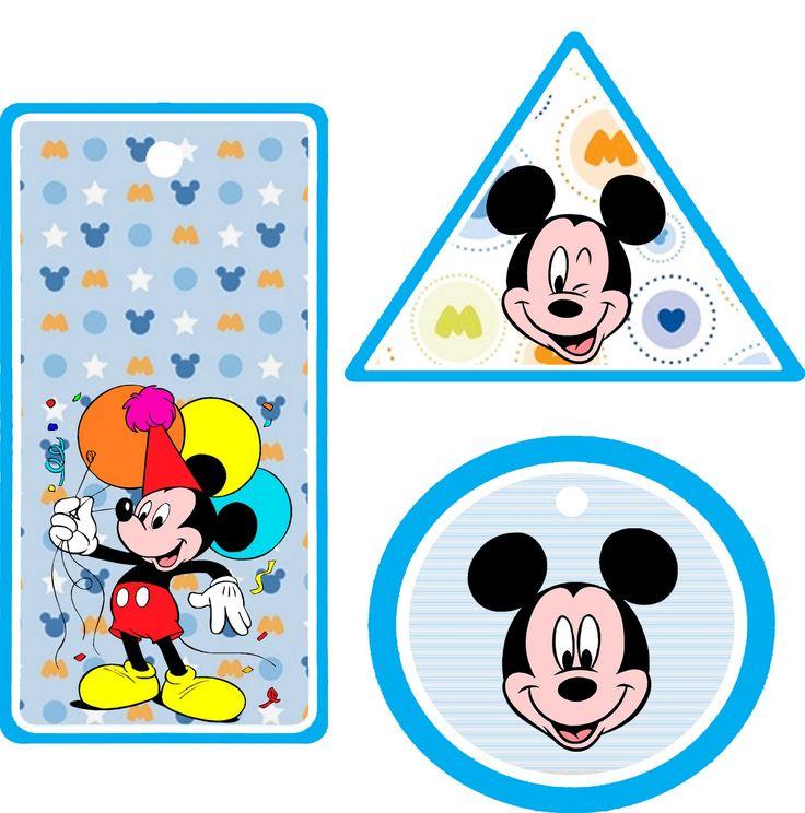 Passatempo da Ana: Kit: Mickey