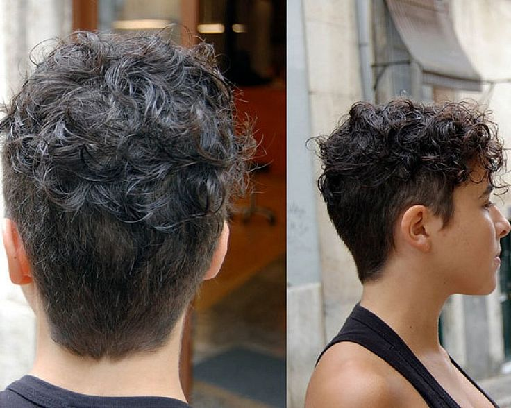Hair Ideas For Short Hair Pinterest: Very Short Natural Curly Hairstyles For Women