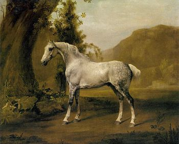Horse in Landscape by George Stubbs