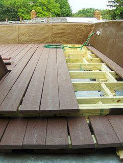 http://howtobuilddecking.com Installing flooring boards to a Deck.