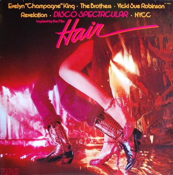 "Evelyn ""Champagne"" King*, The Brothers, Vicki Sue Robinson, The New York Community Choir, Revelation (2) - Disco Spectacular Inspired By The Film ""Hair"" (Vinyl, LP, Album) at Discogs"