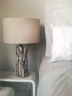 sticks: lamp