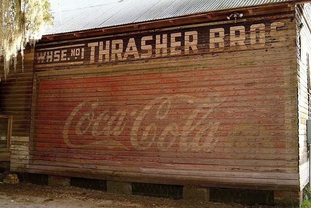 Thrasher Store Coke Sign