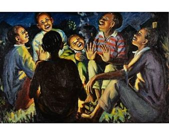 Fireside Stories By George Pemba ,1972