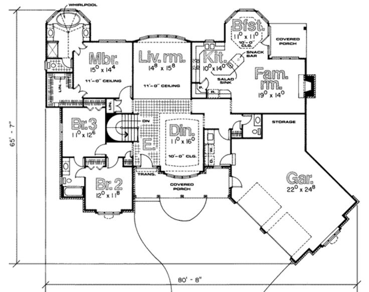 Tiny house floor plans for family