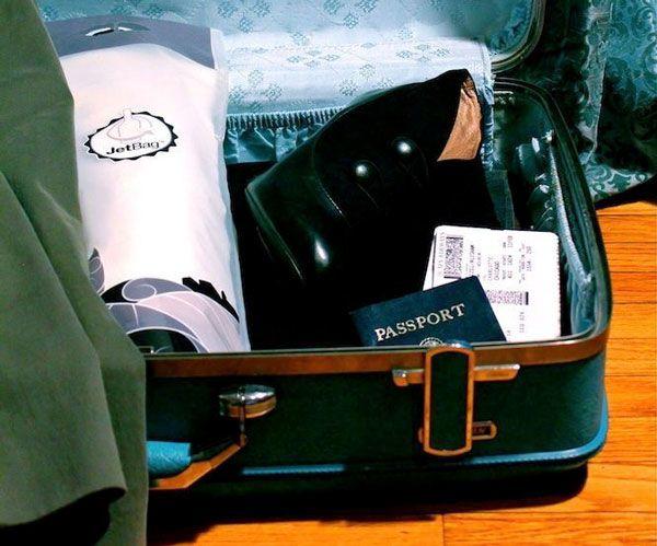 Le JetBag pour transportez en sécurité vos bouteilles #vin #epicerie #ustensiles