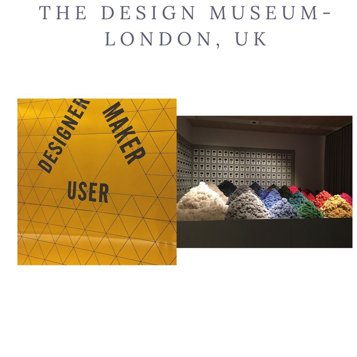 Another eventful day exploring beautiful international designs at The Design Museum, London, UK  #internationaldesigns #DesignMuseum