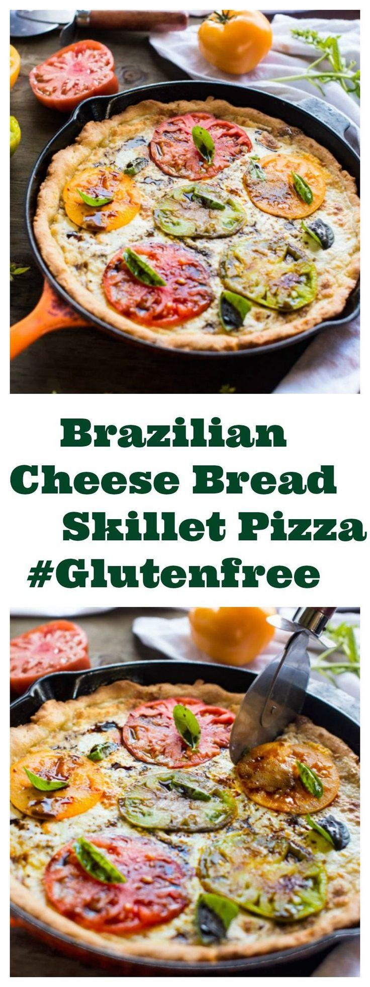 BRAZILIAN CHEESE BREAD SKILLET PIZZA