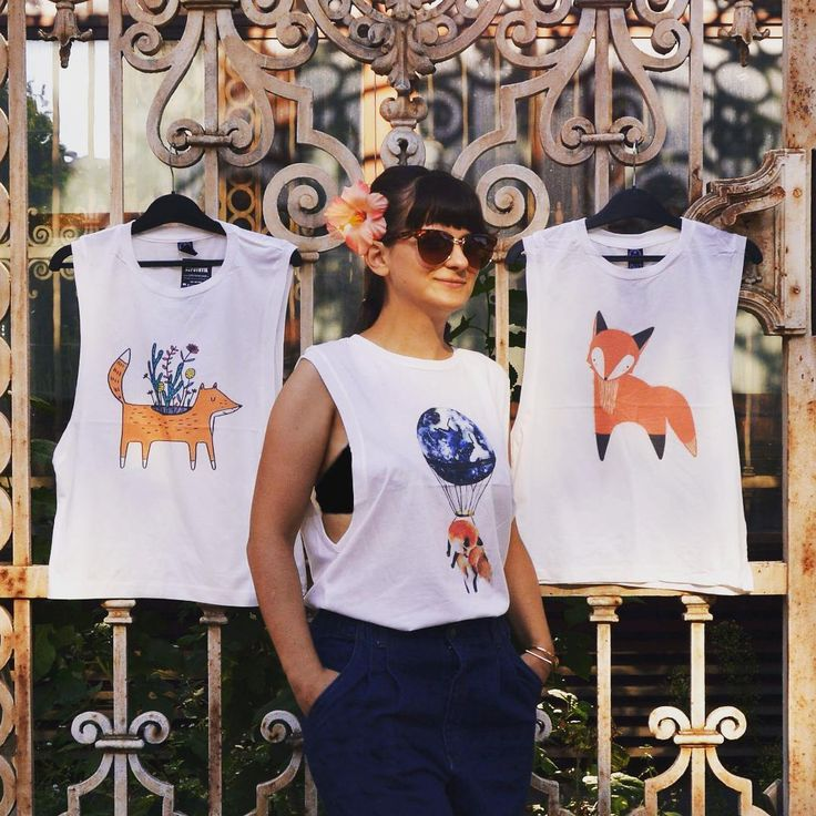 What does the fox say 🐺 #super #cute #limited #fox #print #tanktop #collection #different #style #animals #casual #chic #instacute #foxy #streetstyle #budapest #szputnyikshop #szputnyik