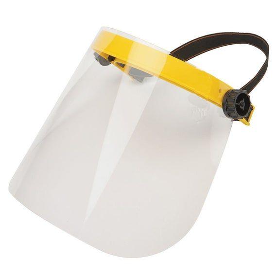 Safety Clear Flip-Up Visor Face Shield With Fisherman Hat Dental Medical Garden