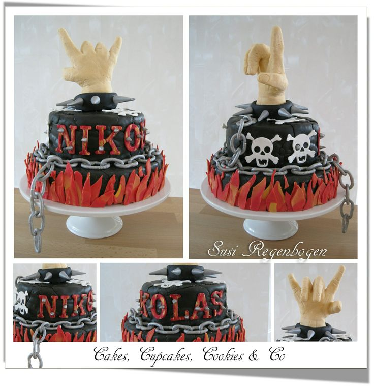 Heavy Metal Cake Heavy Metal Torte