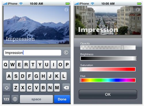 Ten apps to watermark your iPad and iPhone pics