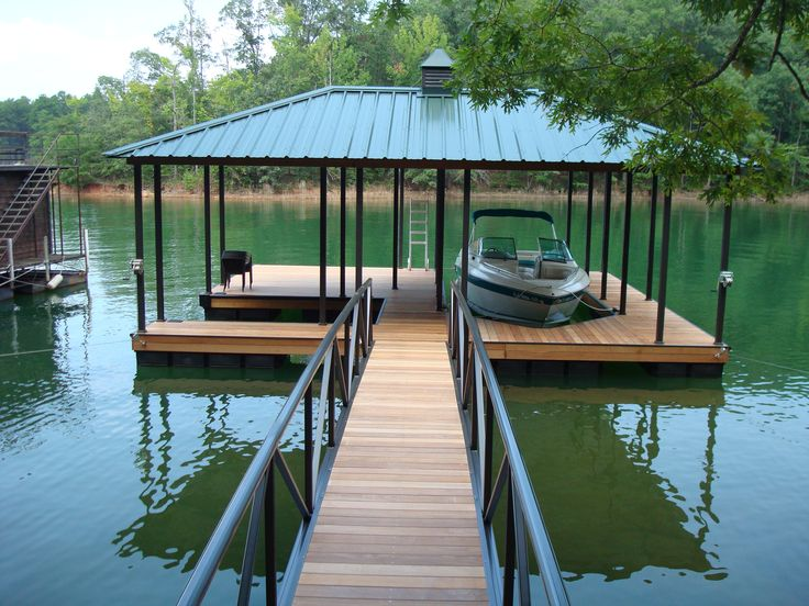 99 best images about boat dock on pinterest lakes metal roof colors and decks. Black Bedroom Furniture Sets. Home Design Ideas