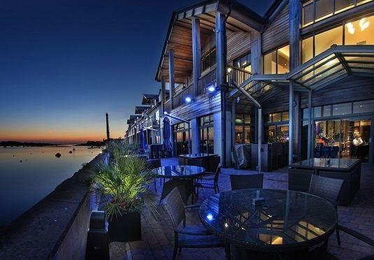 A chic spa hotel in Deganwy including breakfast, a spa discount and an optional four-course dinner
