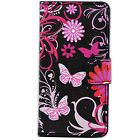 Flip Stand Synthetic Leather ID Card Wallet Case Cover For Apple iPhone 4 4G 4S