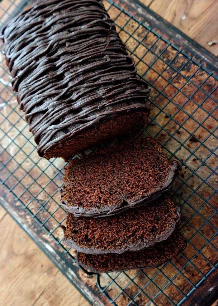 Chocolate Pumpkin Pound Cake-rich dark chocolate, moist cake with just a subtle hint of pumpkin flavor.
