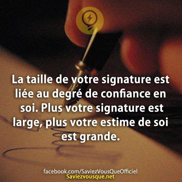Votre signature