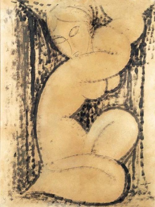 Amadeo Modigliani, Caryatid, 1913
