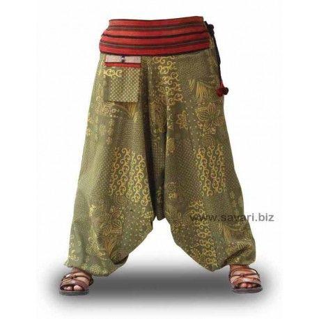 Pantalones Cagados Étnicos de algodón 100% #Boho #Bohostyle #Yoga #Relax