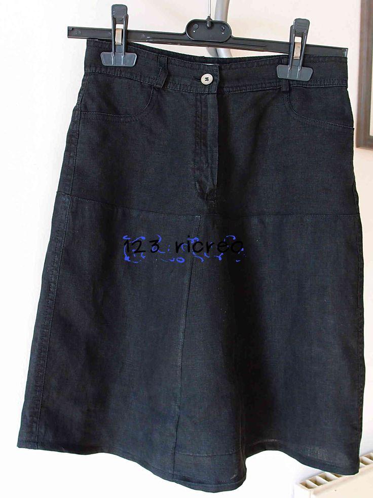 Una scuola di cucito fuori dagli schemi, in cui la parola d'ordine è il riciclo. Come trasformare un paio di pantaloni in una simpatica gonna. Re-fashion.
