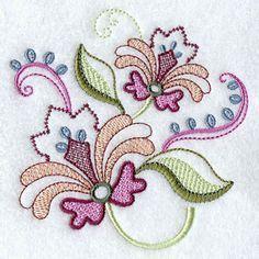 Vintage Jacobean Flower 6