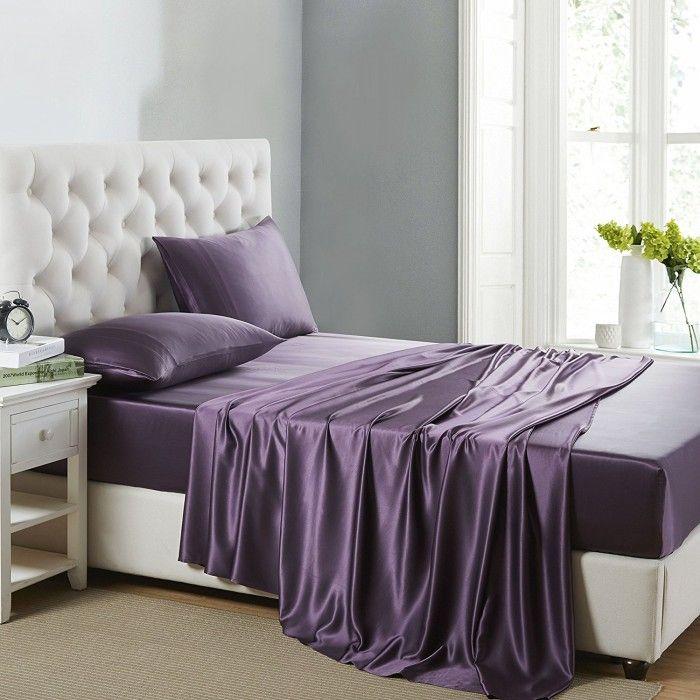 12 best de 4 teiliges bettw sche set aus seide images on. Black Bedroom Furniture Sets. Home Design Ideas