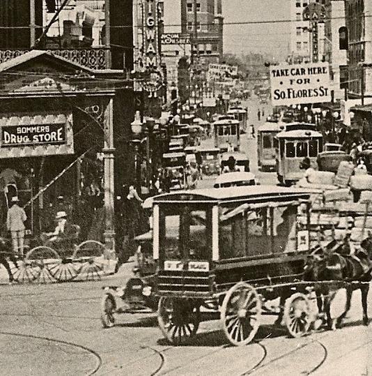 Original San Antonio mule drawn streetcar. Now owned by the Witte Museum.