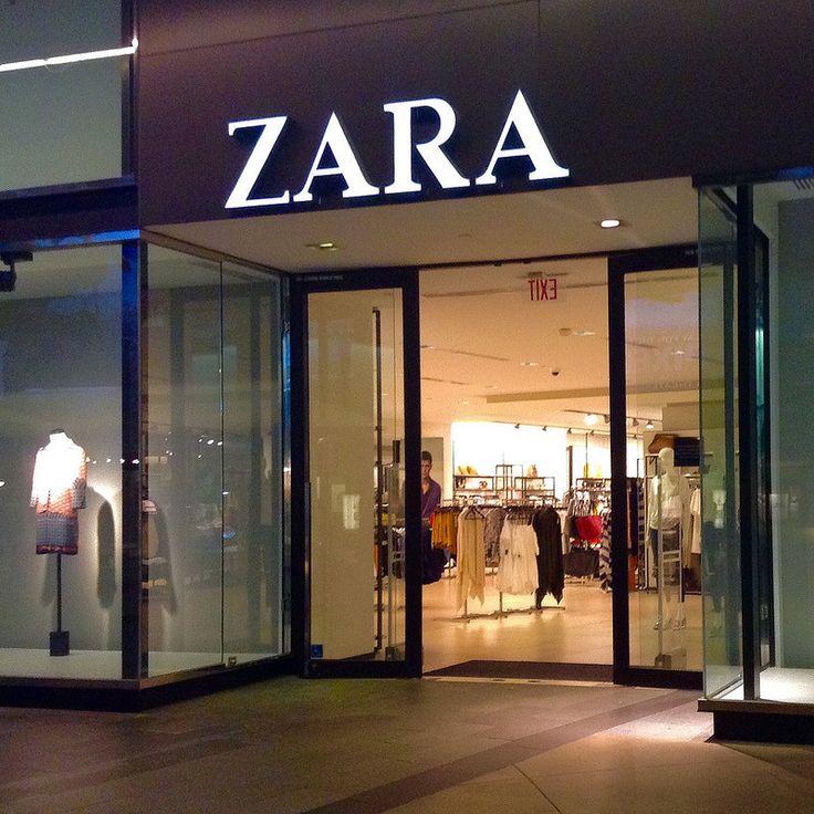 Zara Clothing Store, Los Angeles California,